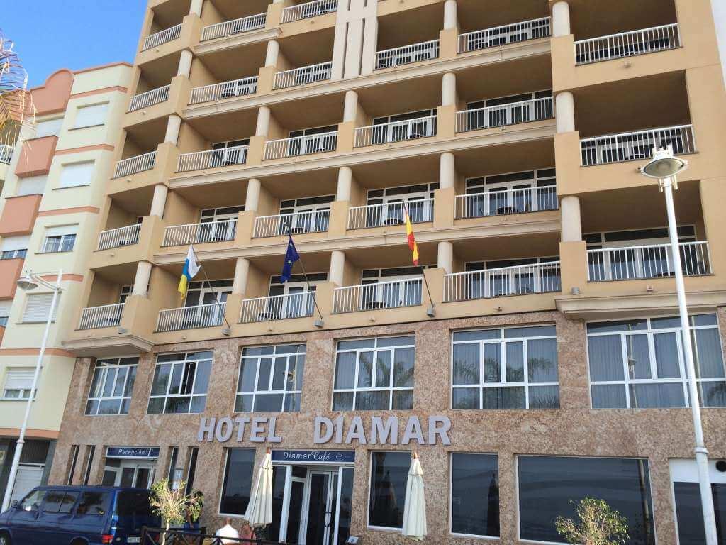 HOTEL DIAMAR — Lanzarote